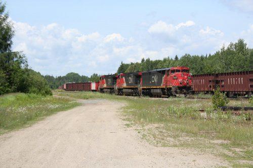 CN 573 at Hawk