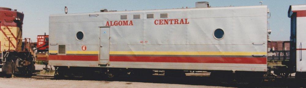 Algoma Central in HO Scale